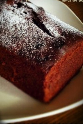 チョココアパウンドケーキ