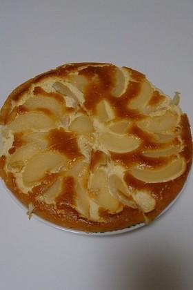 春うらら*簡単!桃のチーズケーキ