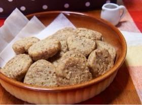 素材を活かしたポテトクッキー