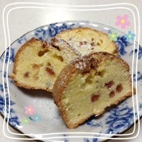 春だ!いちごだ!粒ジャムパウンドケーキ