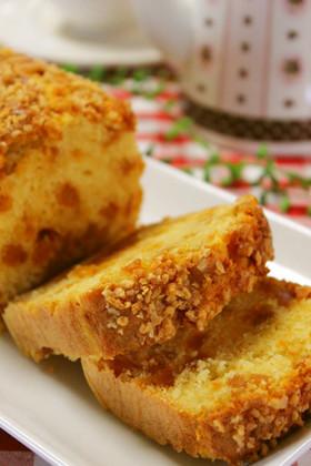 HMで*りんごキャラメリゼパウンドケーキ