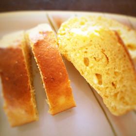 バター無しでチーズパウンドケーキ