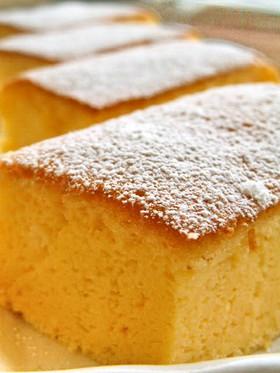 超簡単♥ふんわりスフレ風チーズケーキ♪