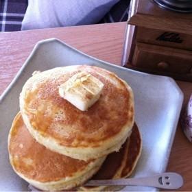 HMで!スフレ風*レモン風味ホットケーキ