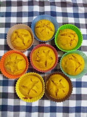 HM☆簡単かぼちゃカップケーキ♪
