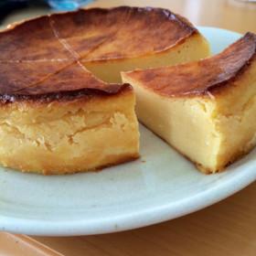 米粉deベイクドチーズケーキ