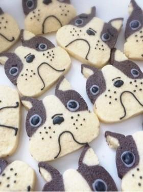 かわいい犬のブル♪アイスボックスクッキー