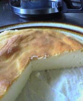 ひとりおやつ・小さいチーズケーキ
