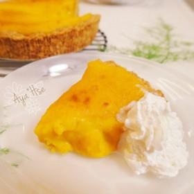 極上*濃厚かぼちゃのクリームチーズタルト