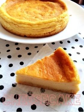 簡単‼︎濃厚♡ベイクドチーズタルト