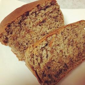 HKMで簡単黒ゴマきな粉のパウンドケーキ