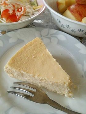 ミキサーで簡単!おからのチーズケーキ