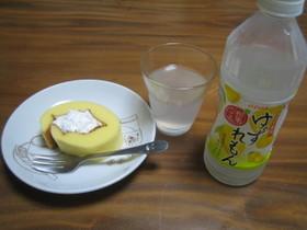 ゆずレモンと合うロールケーキ