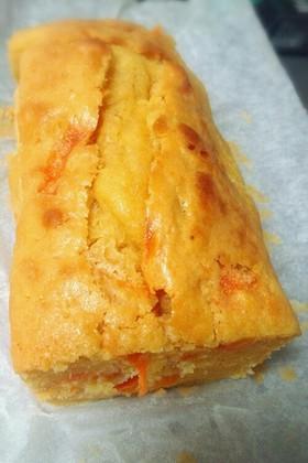 HMで☆安納芋とニンジンのパウンドケーキ