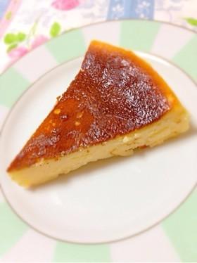 簡単濃厚ベイクドチーズケーキ