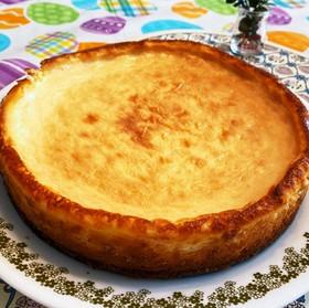 アメリカサイズのベイクドチーズケーキ☆