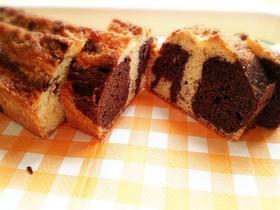 マーブルパウンドケーキ♪