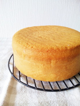 基本のスポンジケーキ