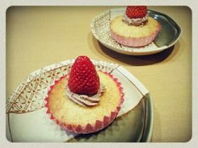 HM*簡単!!しっとりカップケーキ
