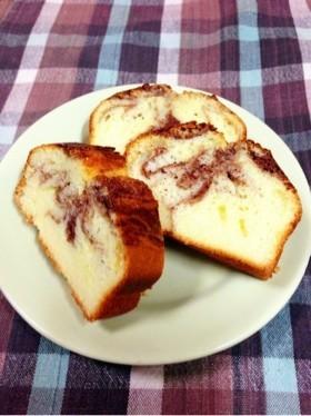 オリーブオイルのパウンドケーキ