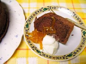 米粉チョコレートシフォンケーキ17cm