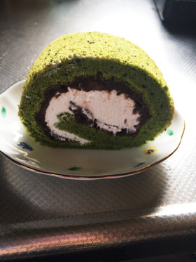 和風♪抹茶ロールケーキ