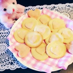 ハート乗せクッキー♡