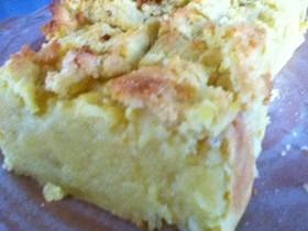 もちっと米粉入りスイートポテト風ケーキ