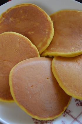 子供が喜ぶ☆かぼちゃパンケーキ