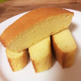バター未使用! 米粉のパウンドケーキ