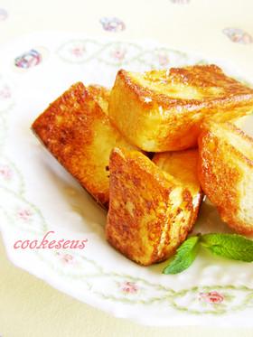ココナッツオイルで焼くフレンチトースト