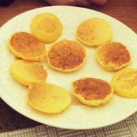 離乳食 米粉パンケーキ (卵なし)
