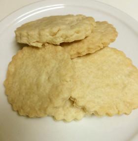 ポリっとサクサクの強力粉クッキー