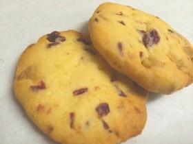 クランベリー♡ホワイトチョコのクッキー
