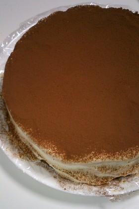 フードプロセッサでティラミスケーキ