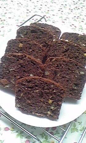 グラノーラinパウンドケーキ