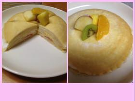 ホットケーキミックスで簡単ミルクレープ