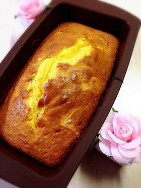 チーズ入りサツマイモのパウンドケーキ