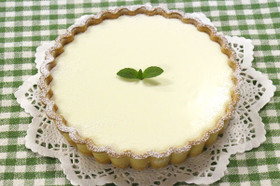 リッチな味♪基本のレアチーズケーキ