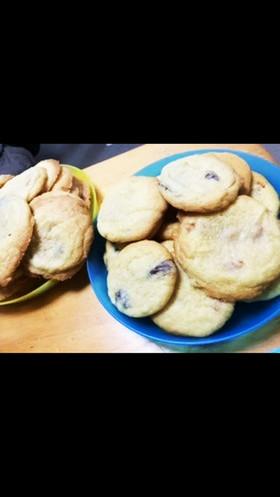 アメリカ友達のチョコチャンククッキー2