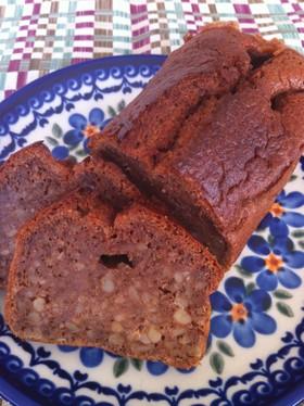 疲れない卵白消費のプレーンパウンドケーキ