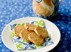おからときなことごまのクッキー