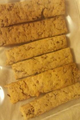 ざっくざく♪メープルアーモンドクッキー♪