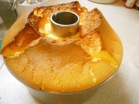 オレンジとヨーグルトのシフォンケーキ