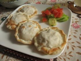 カレー風味♪ チーズチキンパイ