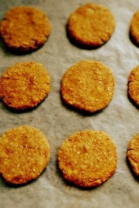 オートミール*おから*バナナクッキー