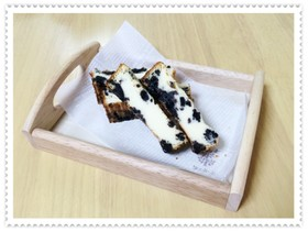 ❇︎牛乳deオレオスティックチーズケーキ