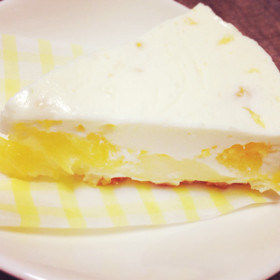 甘夏のレアチーズケーキ