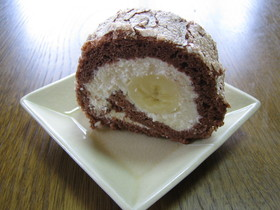 紀代子のチョコロールケーキ