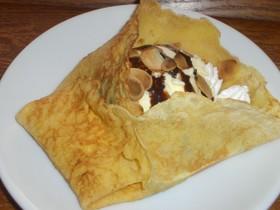 チョコクリームアイスクレープ
